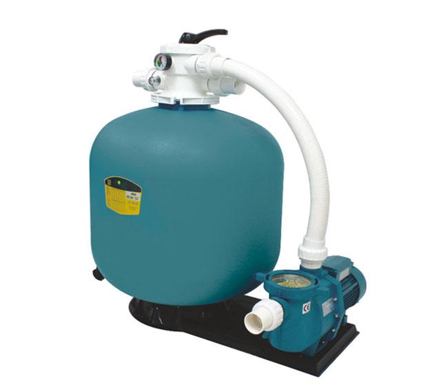 一体化泳池过滤设备水泵连体机
