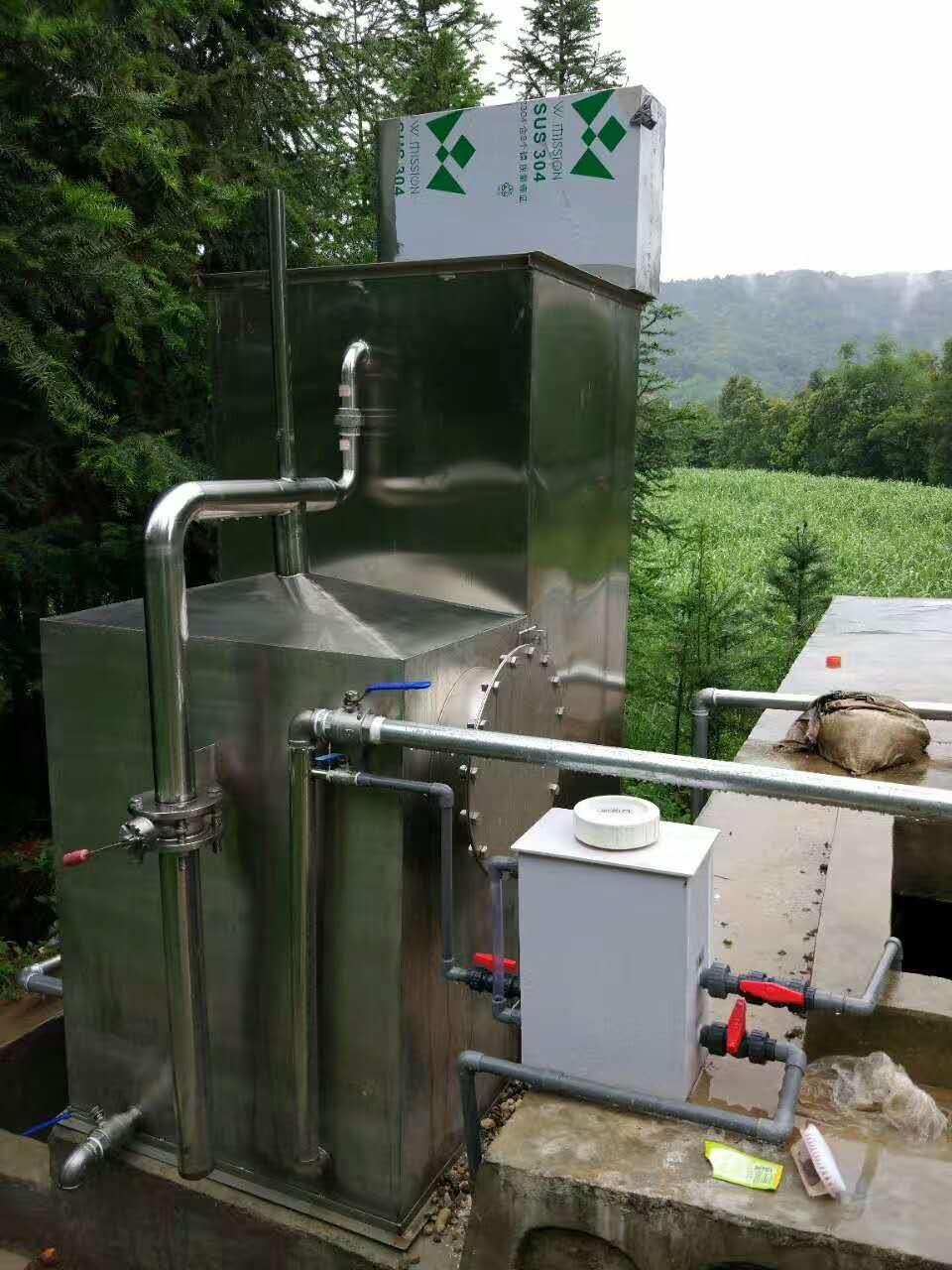 农村一体化重力净水设备