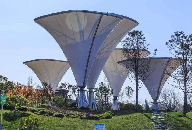 植物园膜结构
