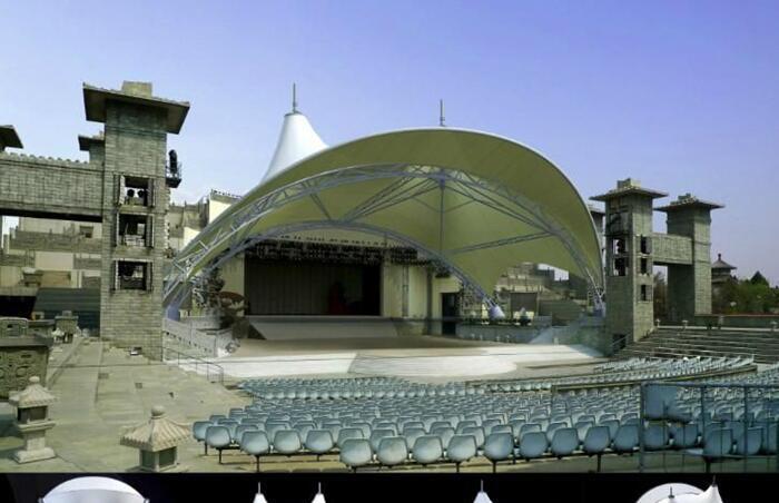 表演中心膜结构