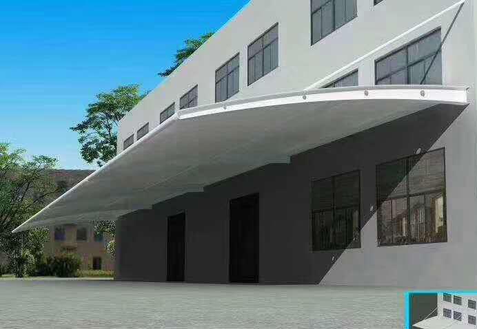 厂区膜结构停车棚
