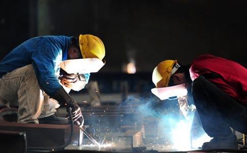 沈陽水電焊加工什么是躺焊?簡單,焊條躺在工件上自動焊!
