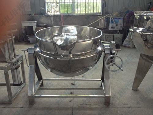 双蒸汽夹层锅