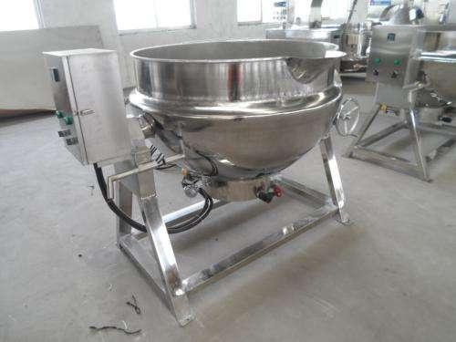 蒸汽机夹层锅