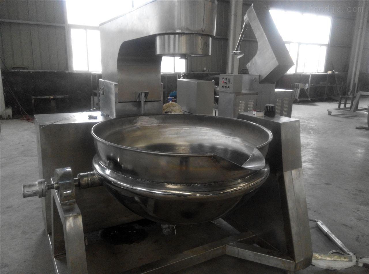 可傾燃氣夾層鍋