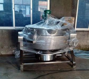 燃气导热油夹层锅