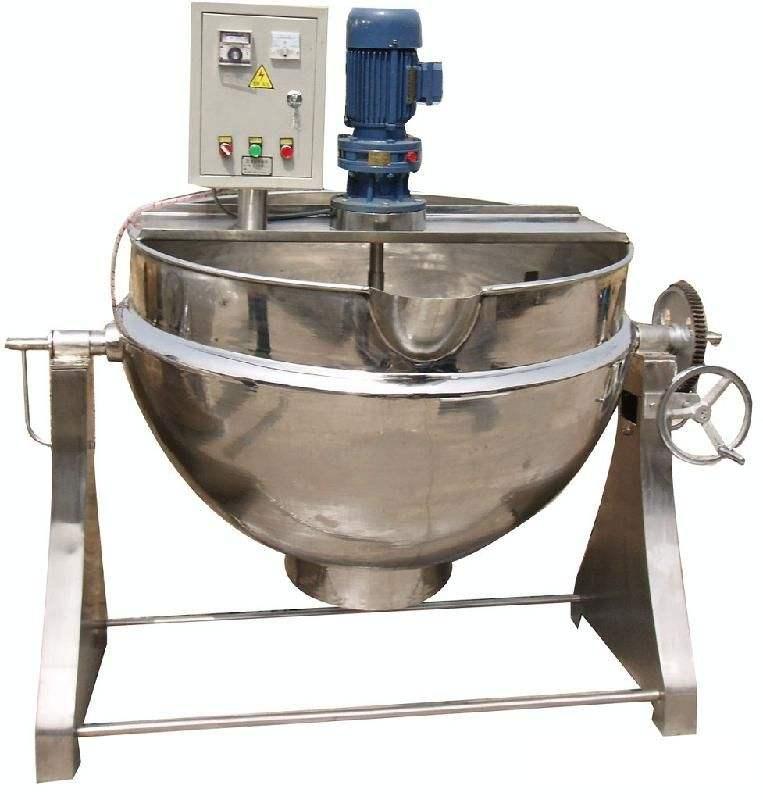 导热油电加热夹层锅