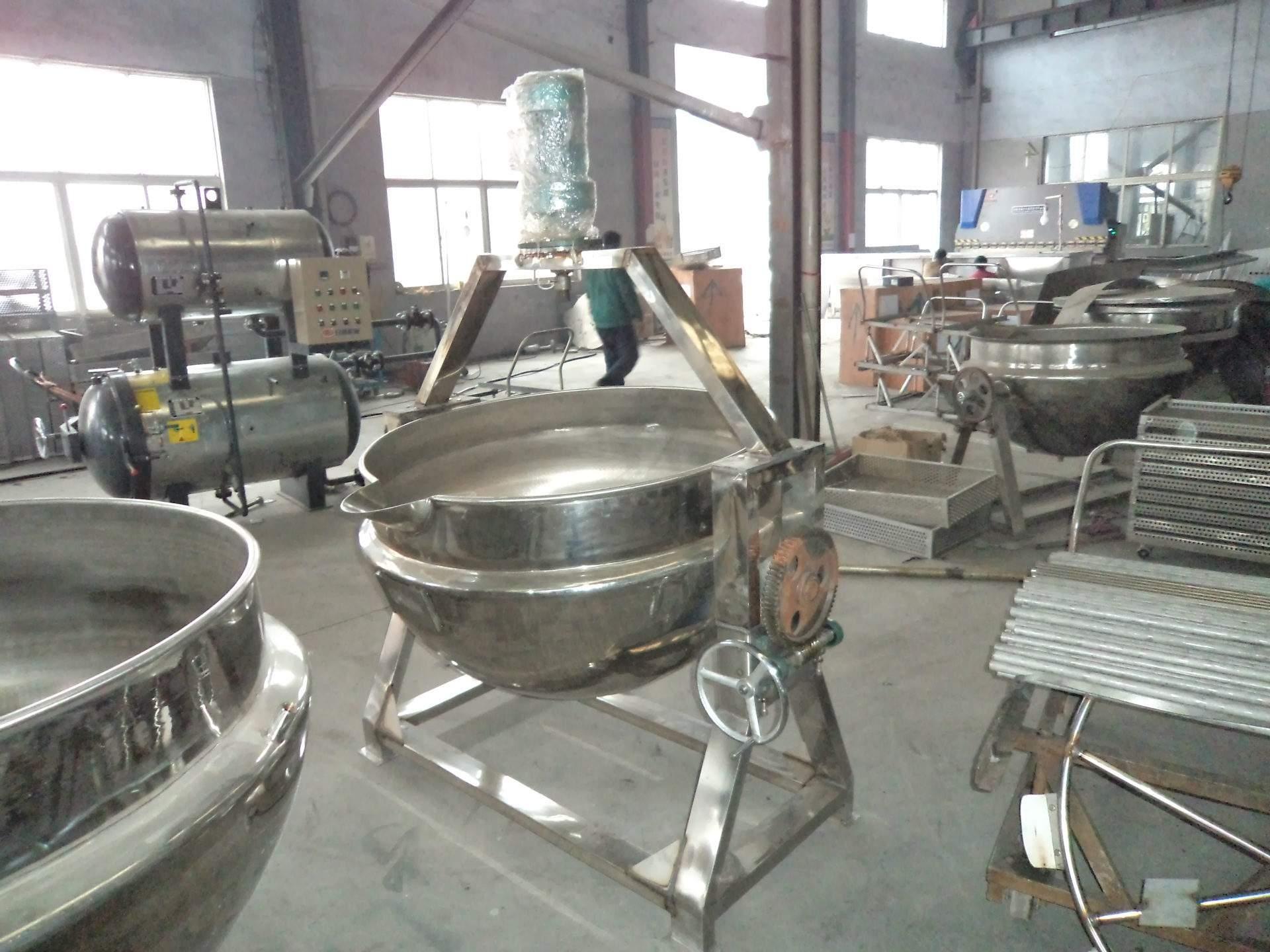 全不鏽鋼可傾式夾層鍋