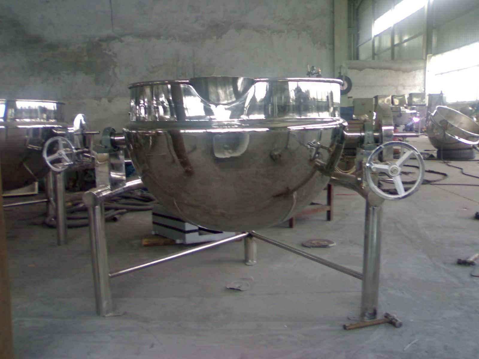 電加熱導熱油夾層鍋廠