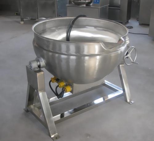 导热油电加热夹层锅厂