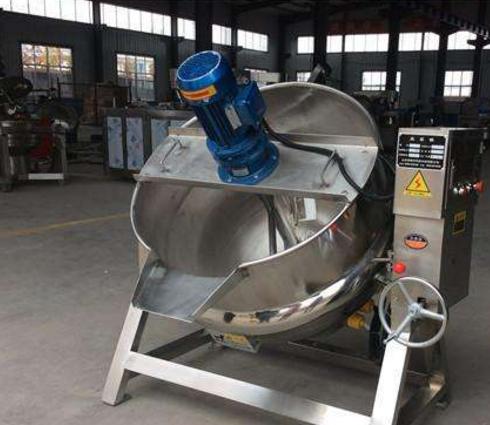 導熱油循環夾層鍋