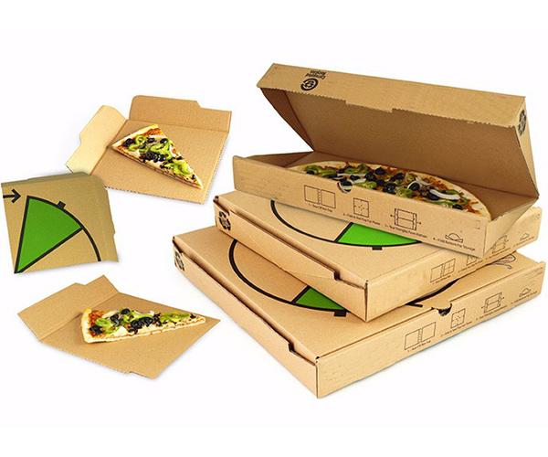 瓦楞纸披萨盒