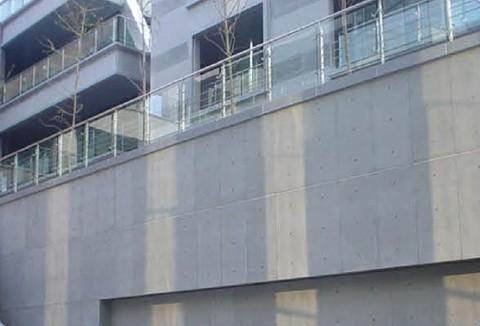 成都保利中心纤维水泥压力板施工现场