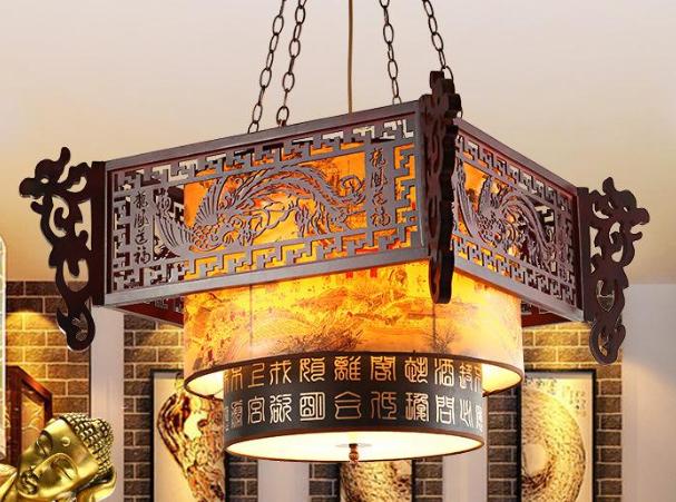 中式餐馆吊灯