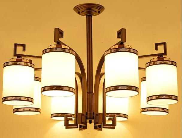 卧室中式吊灯