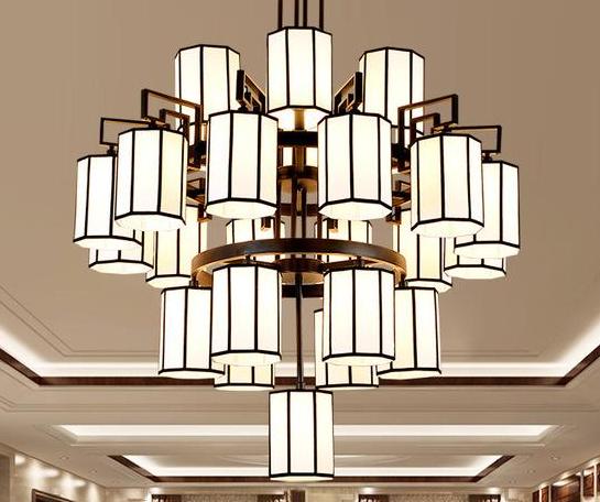 复式楼中式吊灯