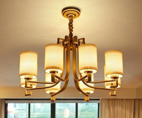 别墅中式吊灯