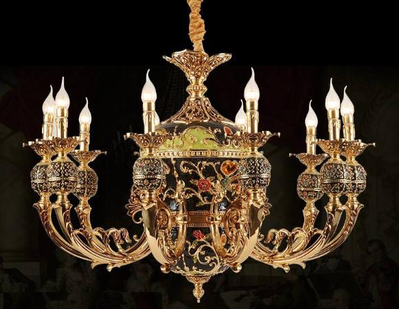 欧式宫廷吊灯