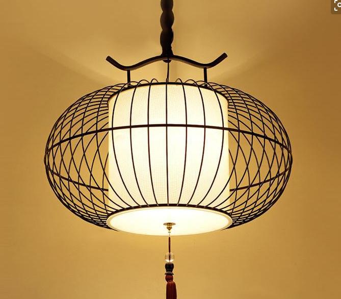龙岩新中式鸟笼吊灯