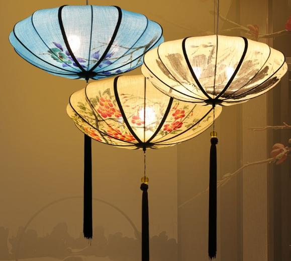 龙岩中国风新中式吊灯