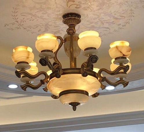 萍乡欧式玉石吊灯