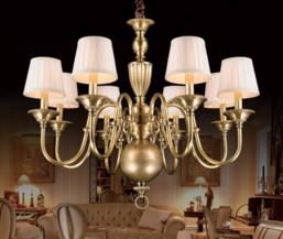 海南海口吊灯用品公司教大家鉴别全铜灯的三大方法