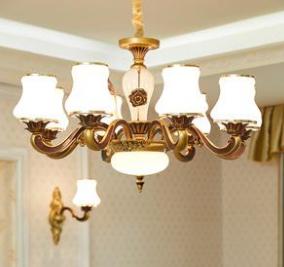 四川灯具用品批发商为我们分享客厅灯具选择注意的6大要点