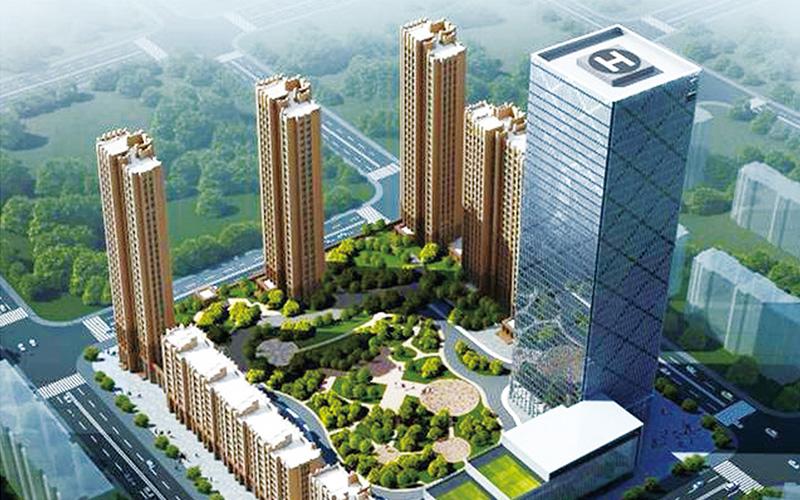 成都市溫江柳岸銀州供水設備工程