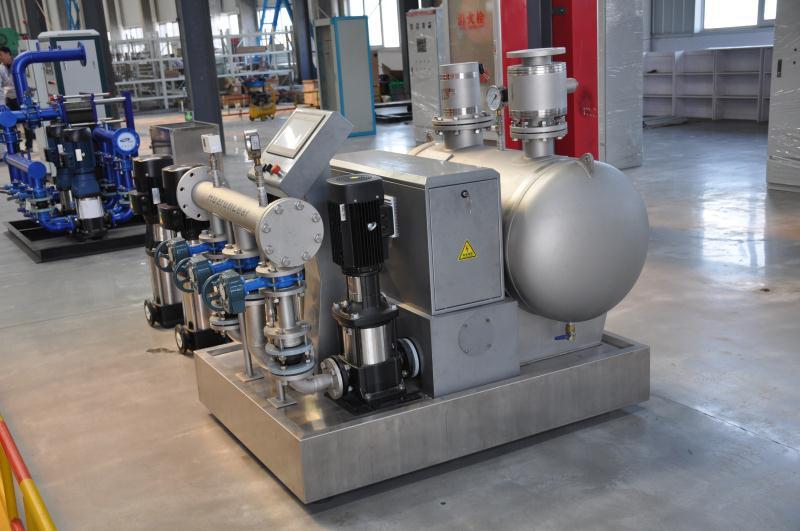 青島水處理無負壓供水設備