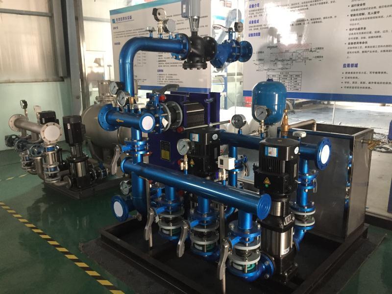 青島水處理采暖換熱設備