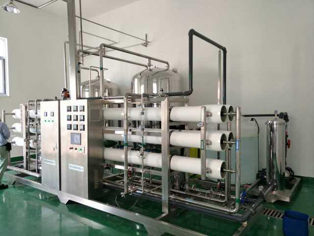 直饮水水处理设备磁混凝的应用