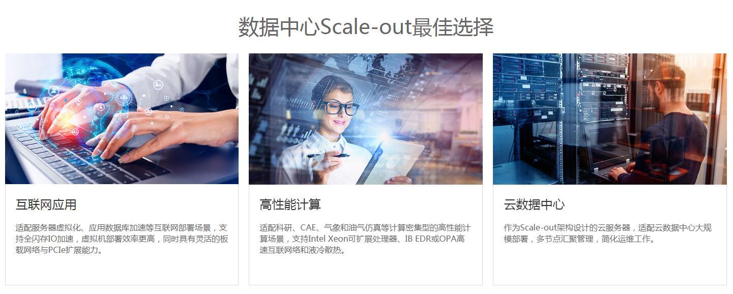 北京华为高密度服务器