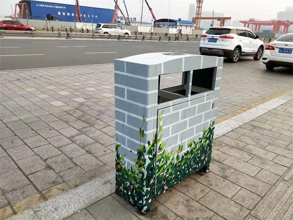 环球中心仿古垃圾桶定制