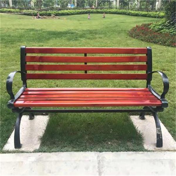 世贸城小区公园椅、垃圾桶项目