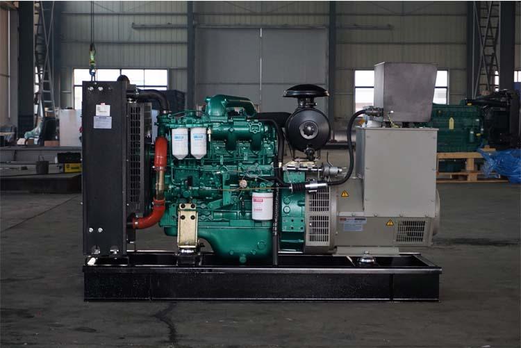80kw玉柴柴油发电机组