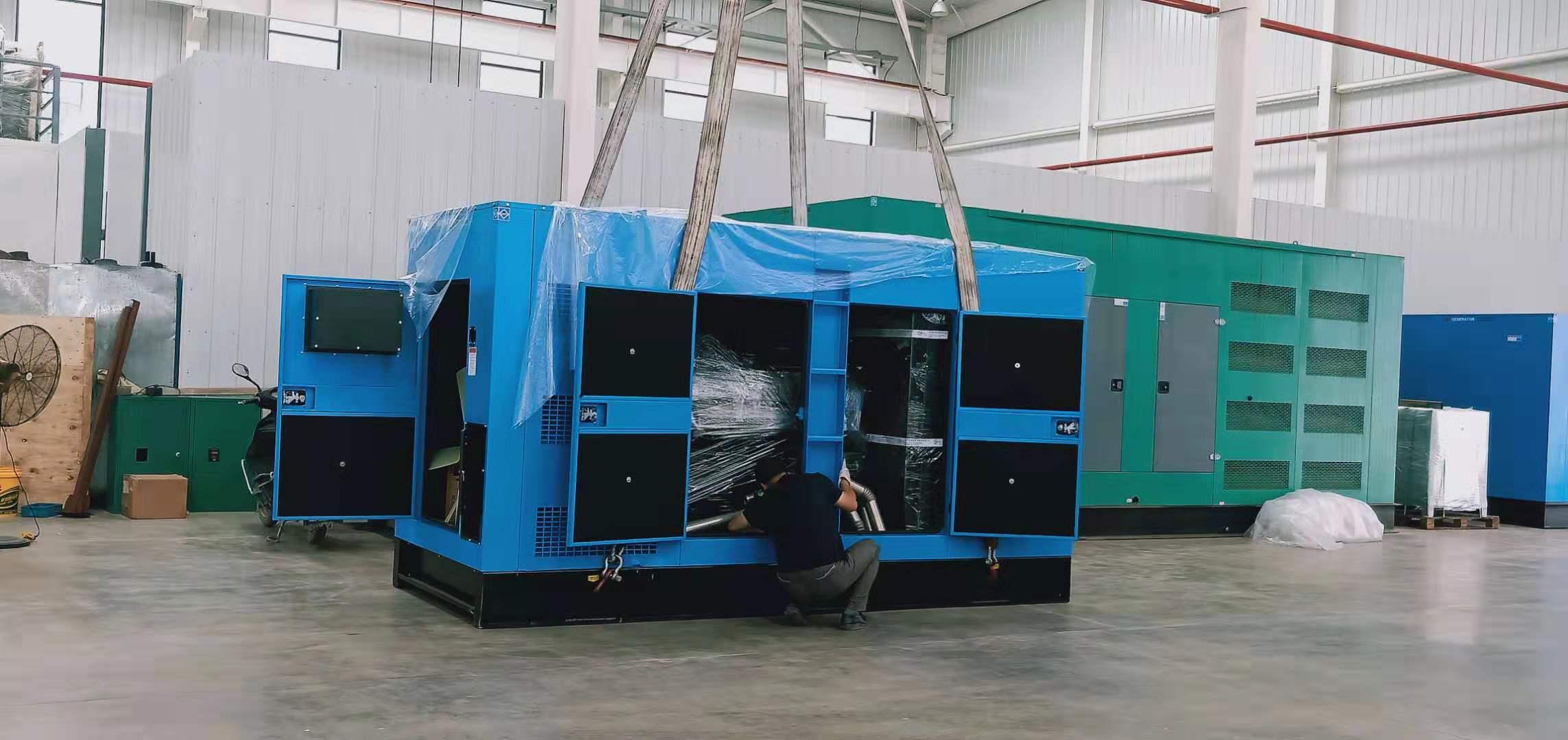 西安800kw发电机