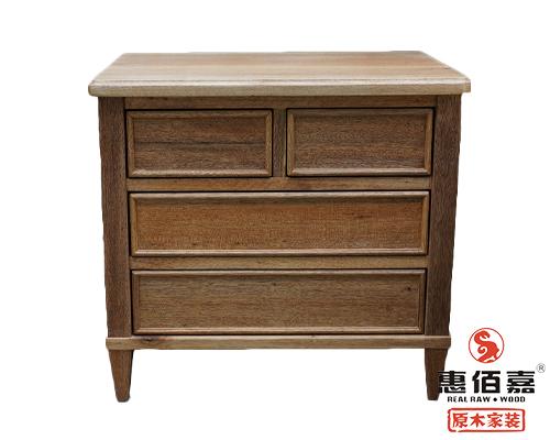定做实木床头柜