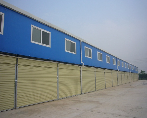 拆装式集装箱活动板房工厂