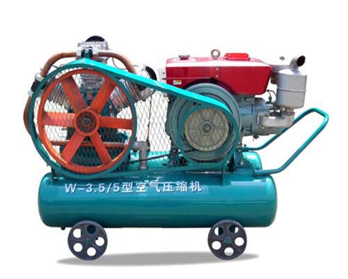 W-3.5、5型柴動活塞空氣壓縮機
