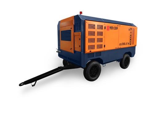 新型高壓係列移動式螺杆空氣壓縮機