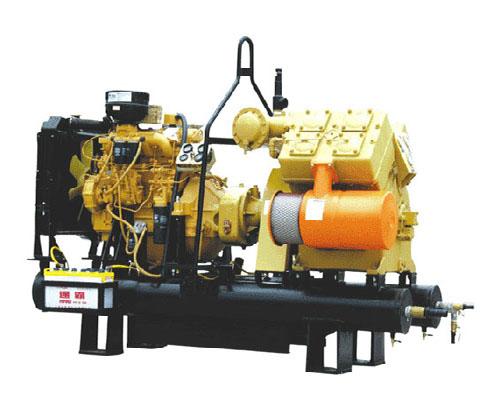 CV7、7柴固管式水冷活塞空氣壓縮機