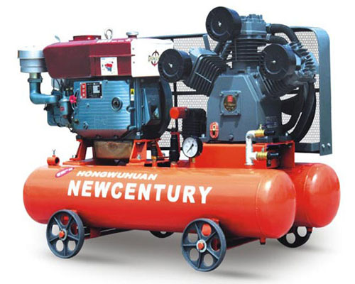 W2.6、7柴動活塞空氣壓縮機