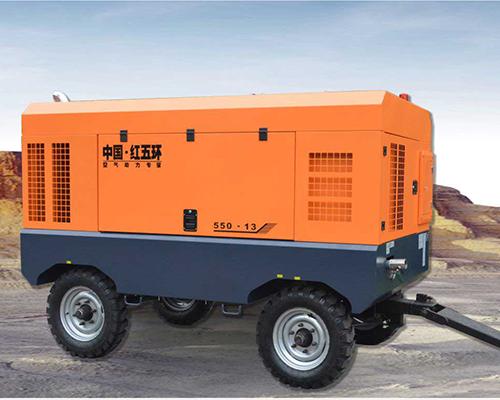 HG係列配水井鑽機柴動螺杆空壓機