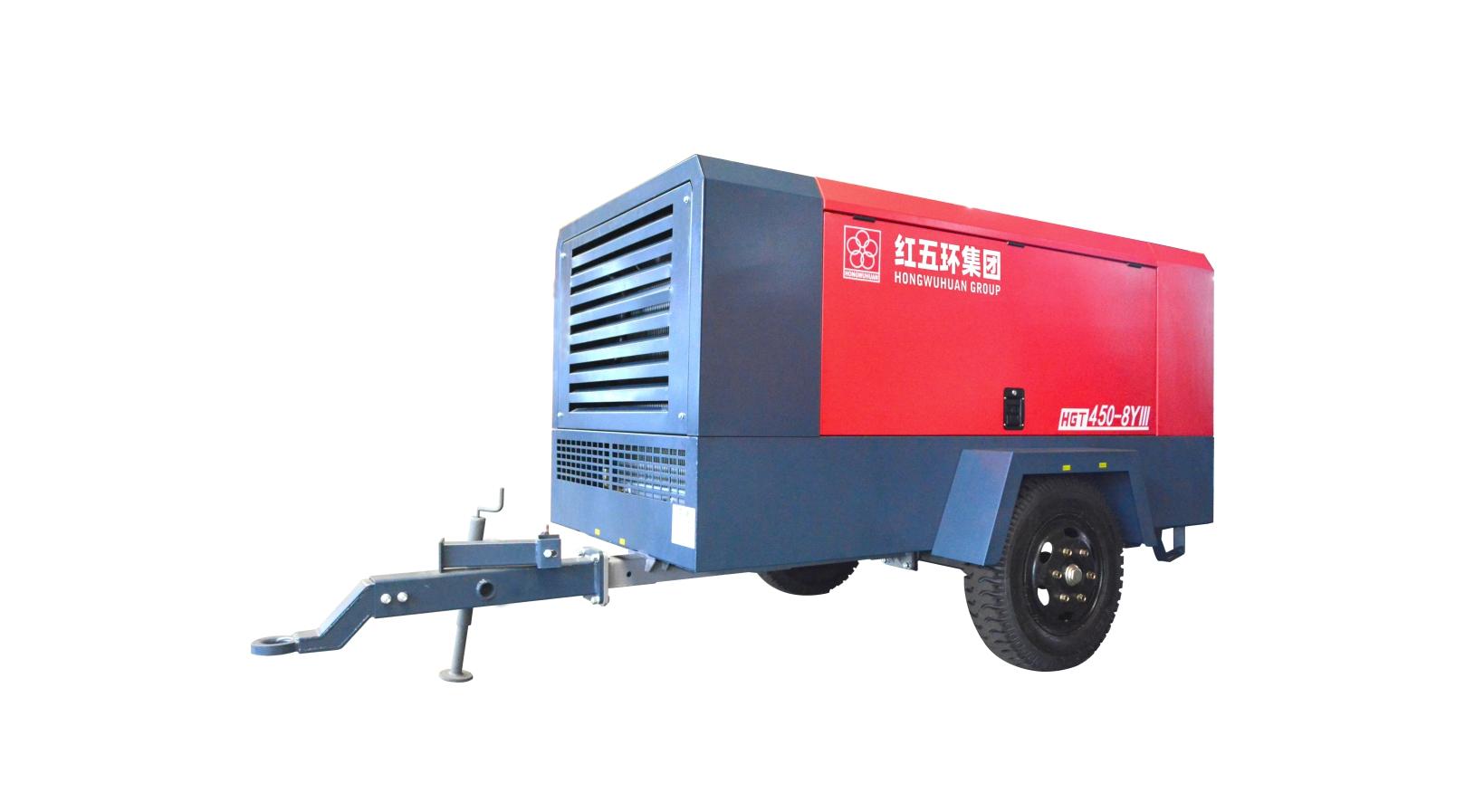 HGT單級小型柴移螺桿空壓機