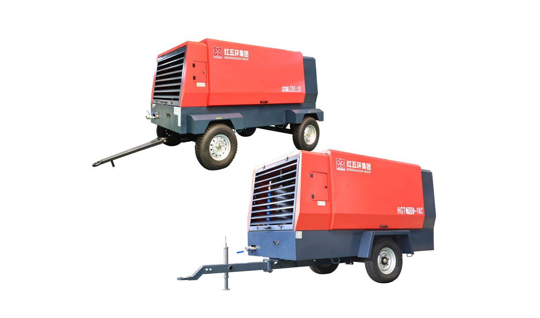 HGT單級中高壓 柴移螺桿空壓機