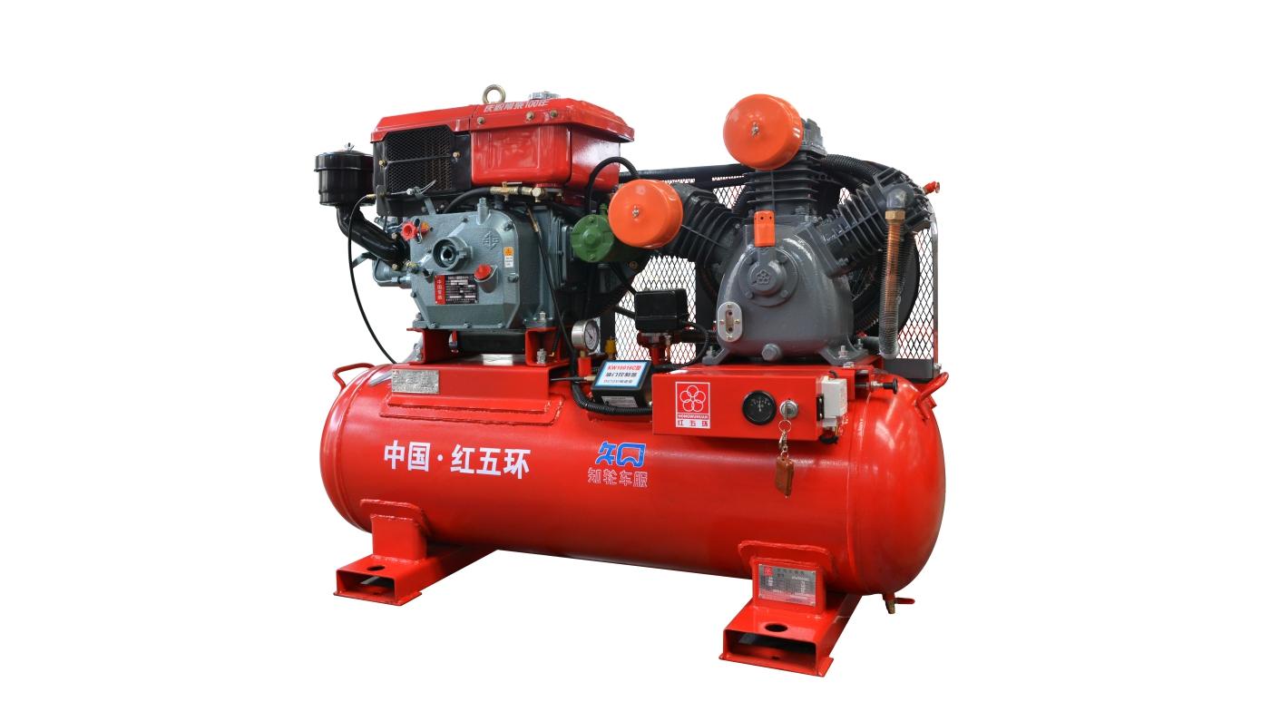 汽保機-柴動中壓兩級壓縮活塞空壓機