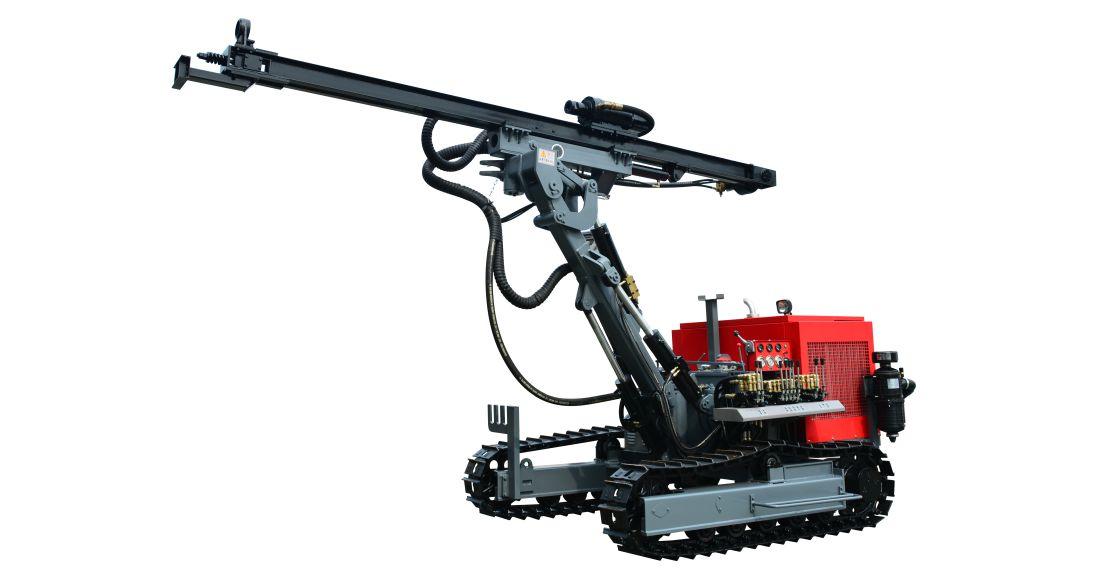 HC726履带式露天潜孔钻车