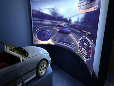 汽车VR虚拟驾驶