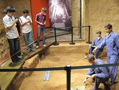 西汉齐王墓陪葬坑陈列-考古