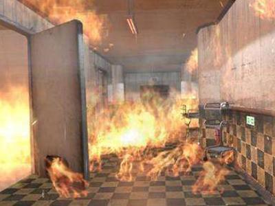火灾现场模拟体验